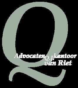 logo Advocatenkantoor Q.J. van Riet